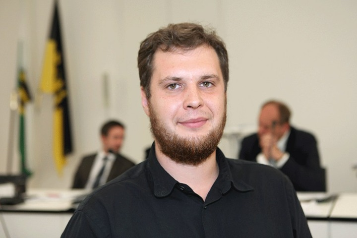 SPD-Stadtrat Vincent Drews (29) .