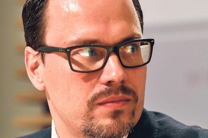 SPD-Fraktions-Chef und MDR-Rundfunkrat Dirk Panter (44)