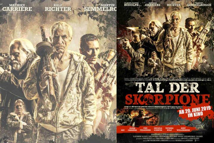 """Das Plakat zum Actionfilm """"Tal der Skorpione"""", der am 20. Juni in den Kinos startet."""