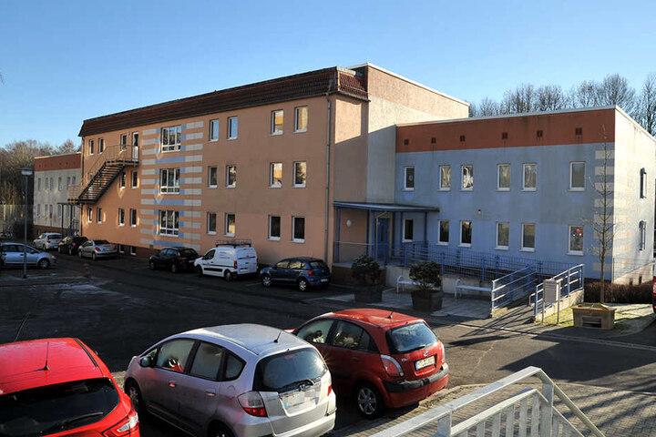 Die Waldschule in Grimma ist eine Förderschule für behinderte Kinder.