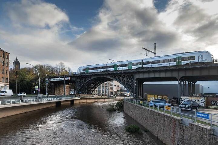 Nach zwei Jahren Streit scheint die Rettung des Chemnitztal-Viadukts in  greifbarer Nähe. Die Landesdirektion will das Bauwerk erhalten.