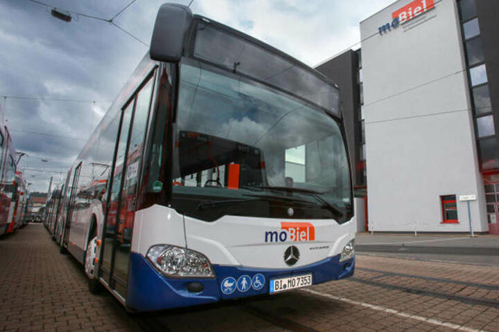 Aktuell sind 13 Prozent der Bus- und Bahn-Fahrer von moBiel krank.