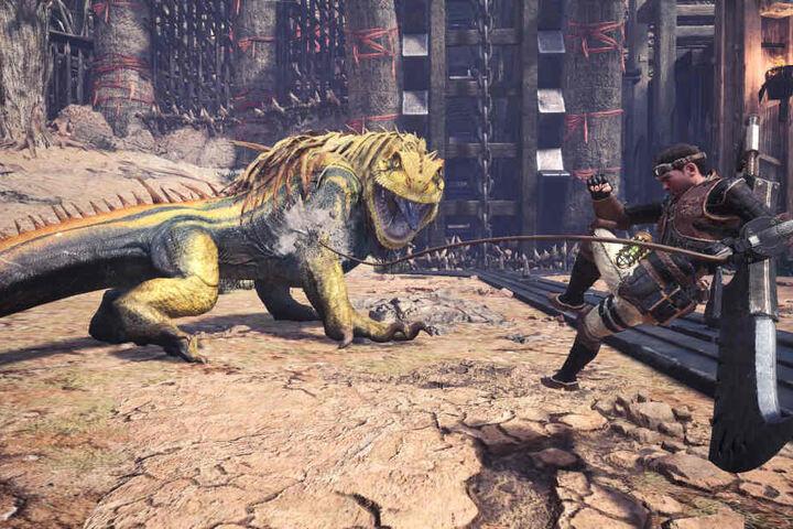 Darüber hinaus gibt es zahlreiche geniale Neuerungen für euren Hunter, wie beispielsweise die Clutch Claw, mit der Ihr Euch an Monstern festhalten könnt.