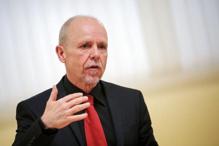 Ds Foto zeigt Detlef Placzek, der Präsident des Landesamts für Soziales und Jugend.