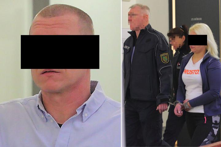 Marcin W. (44) half als Chauffeur beim Diebstahl. Marta (28) soll Benzin gestohlen haben.