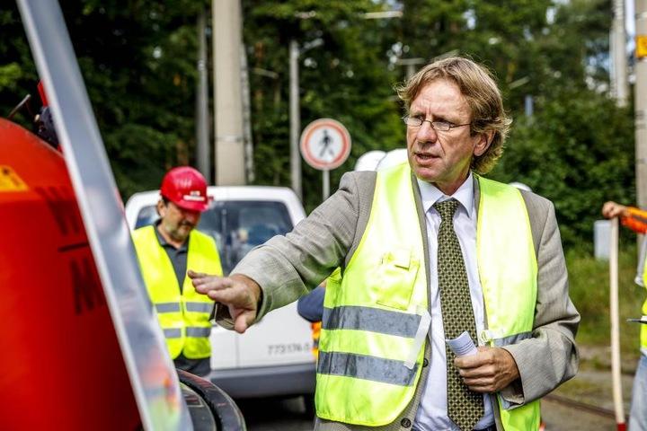 Befürchtet Bauverzug auch für Strabas: DVB-Infrastrukturchef Leonhard Hanusch (60).