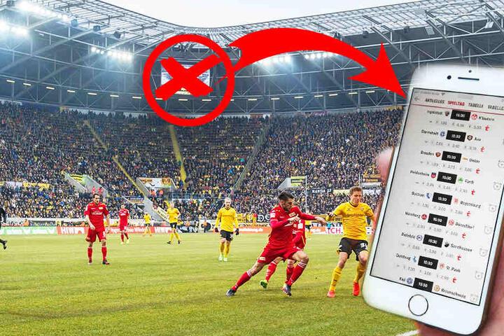 Werden bei Dynamo am Sonntag die Handys glühen?