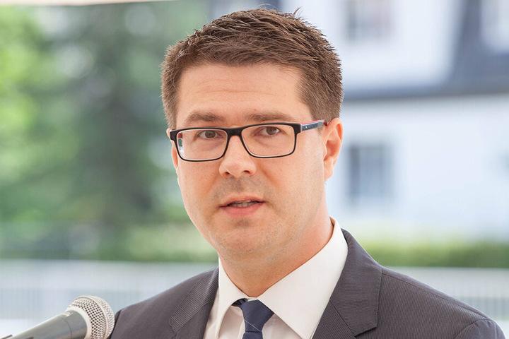 Bald kein Abgeordneter mehr: Sven Liebhauser (37, CDU).