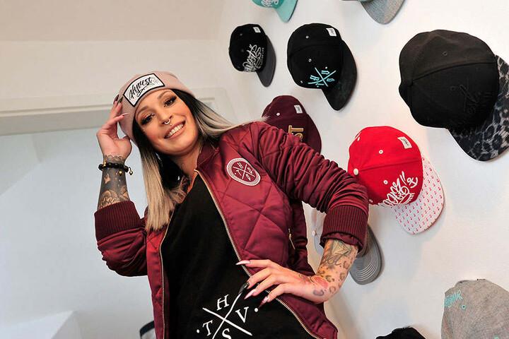 Stefanie Richter (24) hat sich als Pepper van Hyvest ein eigenes Modeimperium aufgebaut.