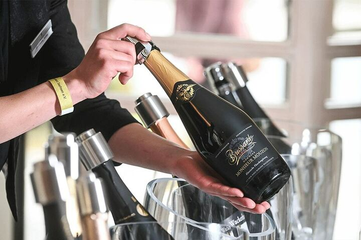 Schloss Wackerbarth ist 2018 zu Deutschlands bestem Sekterzeuger gekürt worden. Auch der Staatsbetrieb präsentierte gestern seine neuen Weine.