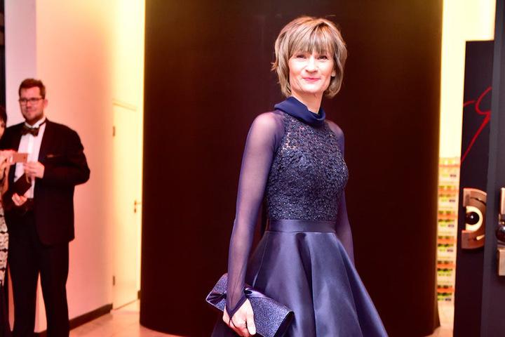 Auch OB Barbara Ludwig legte einen glamourösen Auftritt hin.