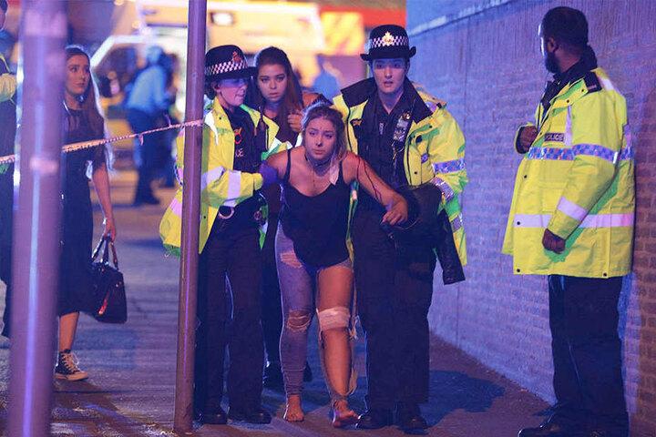 Viele Konzertbesucher wurden bei dem Anschlag verletzt.