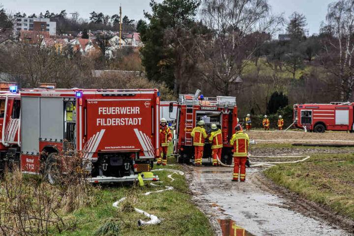 Bei dem Brand wurden rund 100.000 Euro Sachschaden angerichtet.