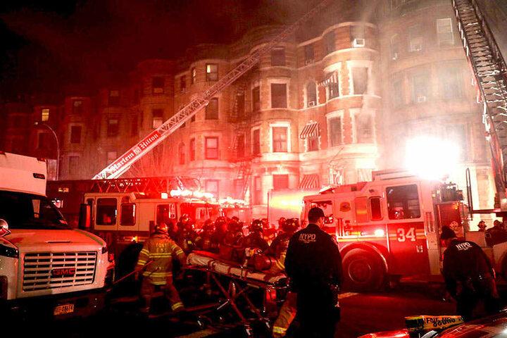 Die Dreharbeiten zu einem Action-Movie in New York wurden von einem dramatischen Vorfall überschattet.