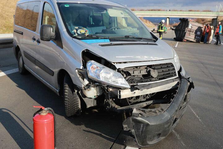 Menschen wurden bei dem Unfall nicht verletzt.