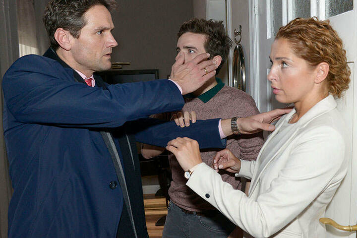 Die Gewaltausbrüche von Martin Ahrens treffen auch den Sohn Luis.