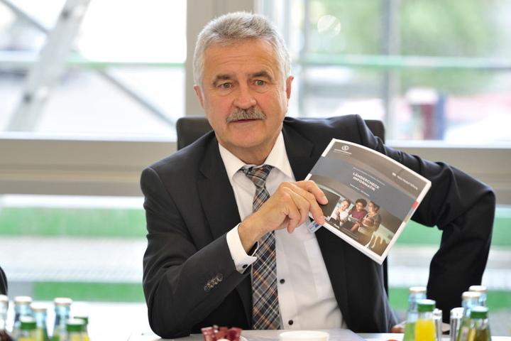 IHK-Hauptgeschäftsführer Hans-Joachim Wunderlich (63) findet den Gründer-Mut der Frauen gut.