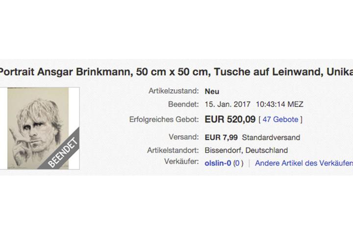 Jetzt muss Ansgar Brinkmann das Bild nur noch ausliefern.