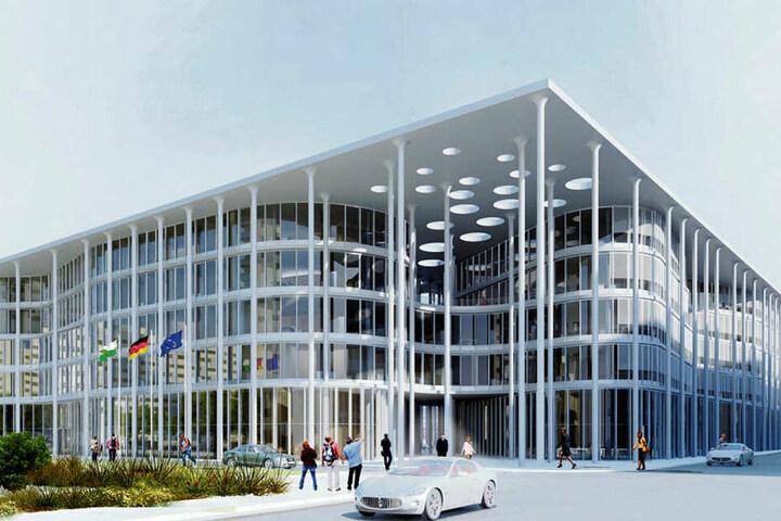 So soll die neue SAB-Zentrale einmal aussehen.