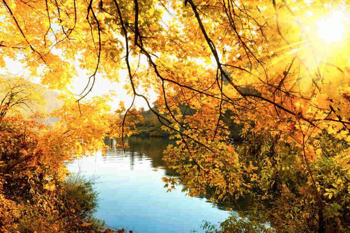 Die Sonne lacht in diesem November auch weiterhin vom Himmel.