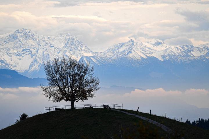 Am Samstag stehen die Chancen auf ein Schnee-Panorama am besten. (Symbolbild)