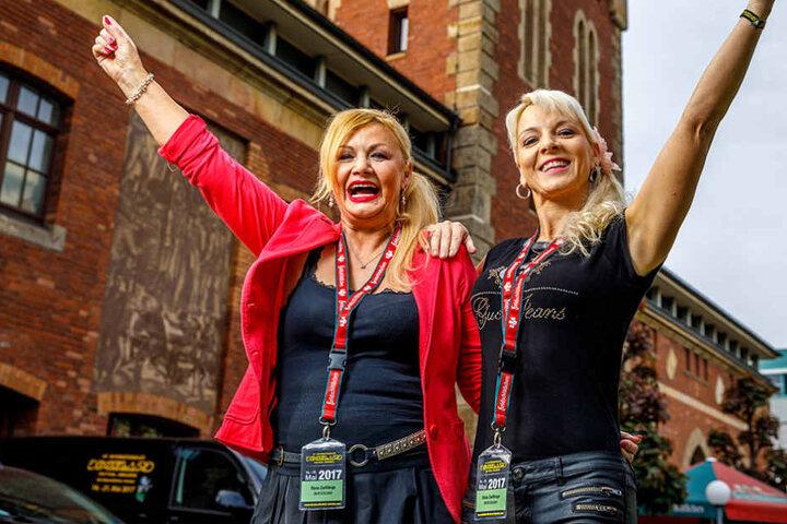 Das sind die neuen Dixie-Ladies: Gabriele Kaul (l.) und Carmen Schlese  bringen weiblichen Charme ins Festival.