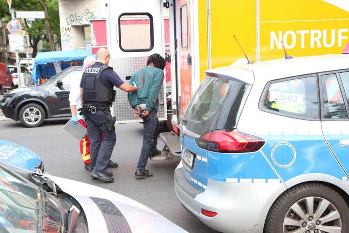 Der mutmaßliche Täter wurde festgenommen.
