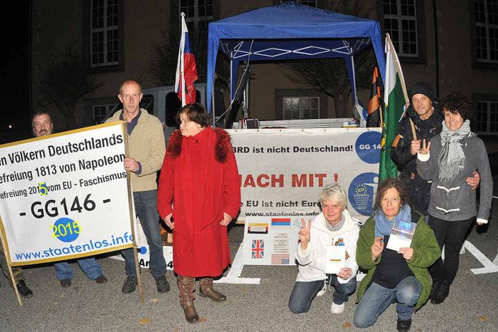 Gegen die BRD, gegen Europa: Reichsbürger haben nicht generell die selben Interessen und Überzeugungen.