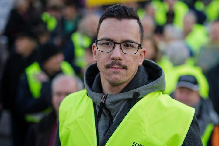 Ioannis Sakkaros, Organisator der Diesel-Demonstrationen.