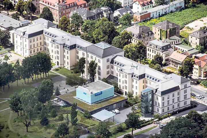 Der MDR feiert auf dem gesamten Gelände an der Königsbrücker Straße den 25.  Geburtstag des Senders.