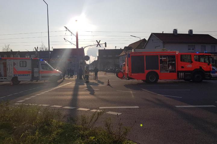 Die Fußgängerin wurde nur leicht verletzt.