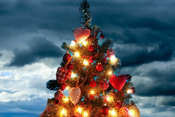 Das Christkind beschert uns dieses Jahr eine dichte Wolkendecke.