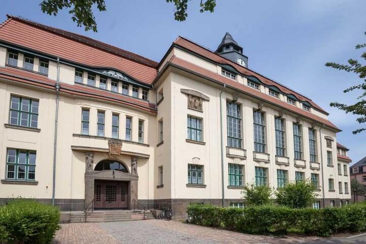 Das Käthe-Kollwitz-Gymnasium in Zwickau.