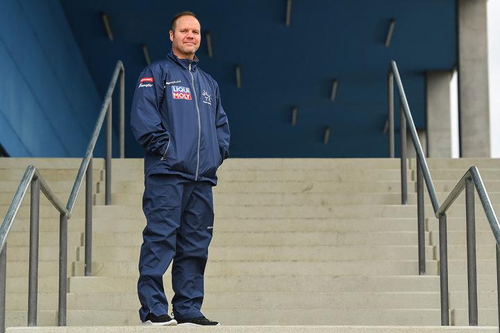 Eislöwen-Coach Bradley Gratton.