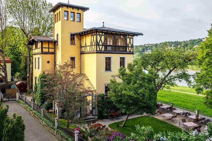 """1994 öffnete in der """"Villa Marie"""" das gleichnamige Restaurant. Auch künftig wollen die Pächter hier Gäste bewirten."""