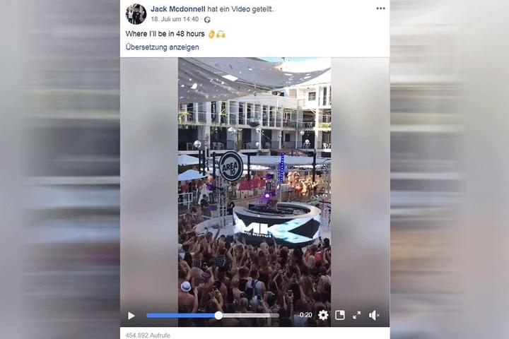 Über 450.000 Menschen klickten sein letztes Video an.