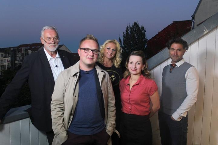 Die Kandidaten: (v.l.n.r.) Michael (63), Robert (30), Petra (42), Jana (30) und Clemens (45)