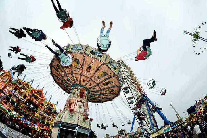 Noch eine Woche können sich alle Adrenalinjunkies auf der Frühjahrskleinmesse am Cottaweg vergnügen.