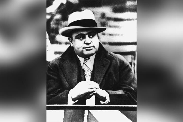 """Al Capone war der amerikanische Bandenchef der """"Unterwelt"""" von Chicago. (Aufnahmedatum unbekannt)."""
