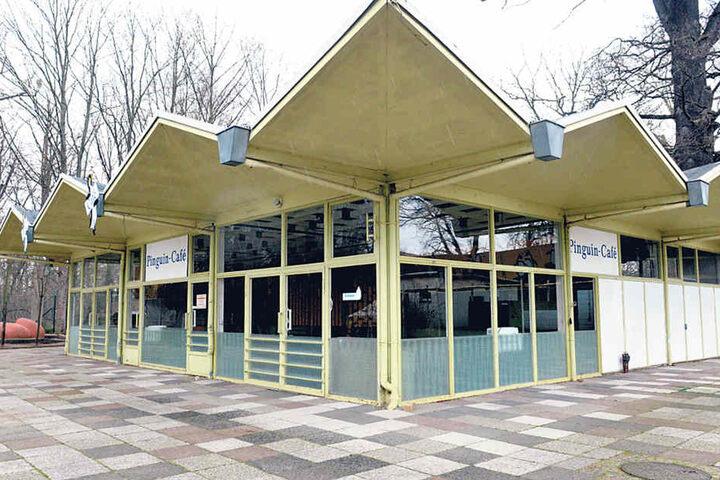 Über 40 Jahre prägte das Pinguin-Café den Zoo. Mittlerweile ist es  demontiert.