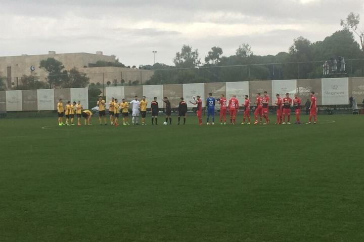 Das erste Testspiel gegen den FC Aarau.