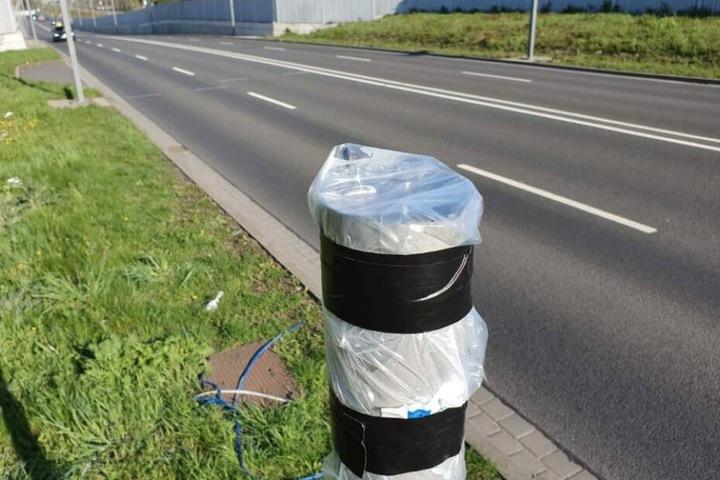 Ein 18-Jähriger soll das Messgerät von der Travniker Straße geraubt haben.