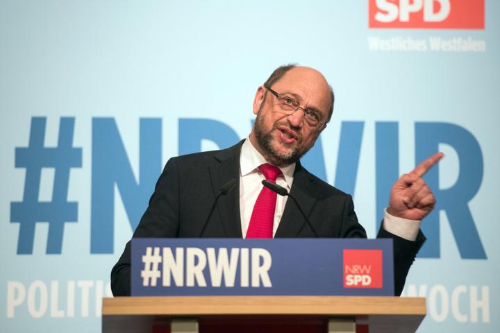Martin Schulz zieht wohl für die SPD ins Rennen bei der Bundestagswahl.
