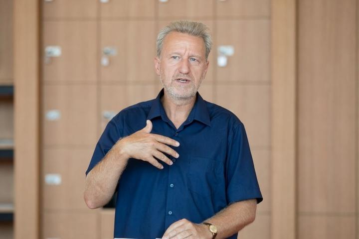 Arend Flemming, Chef der Städtischen Bibliotheken.