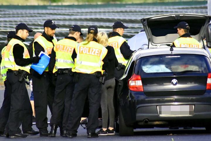Nach Schleusern fahndet die Bundespolizei mit Hochdruck.