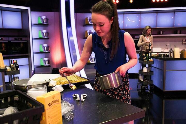 """Verena Leister (25) überraschte in der sat1-Show """"The Taste"""" mit  ungewöhnlichen Zutaten-Kompositionen."""