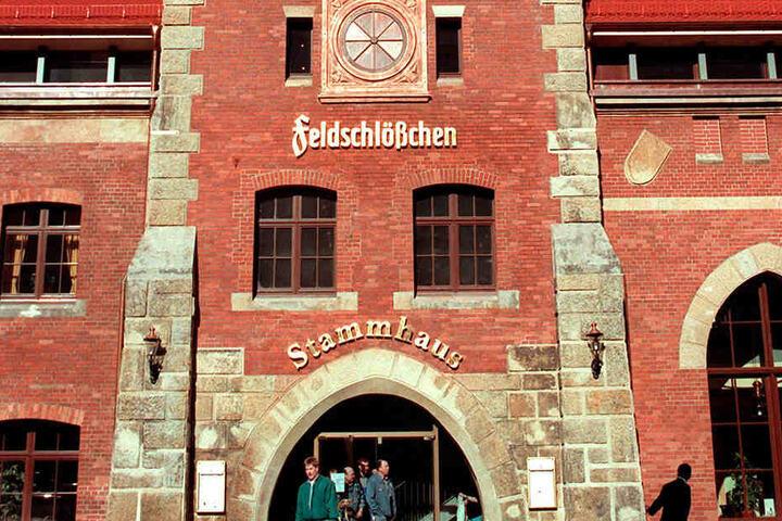 Das Feldschlößchen-Stammhaus in Dresden ist heute ein beliebtes Restaurant