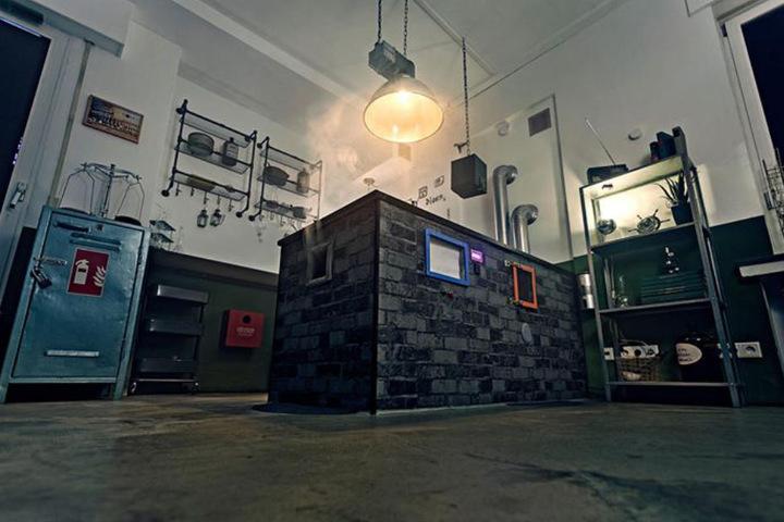 """""""Der Sullivan Versuch"""" ist der zweite Escape Room der Gründer. Hier müsst Ihr das Labor des Professors rechtzeitig verlassen!"""