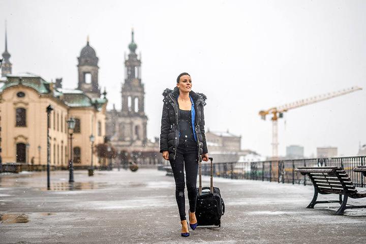 Treuetesterin und Model Christiane Schleicher (30) packte ihre Koffer und wanderte nach Mallorca aus.