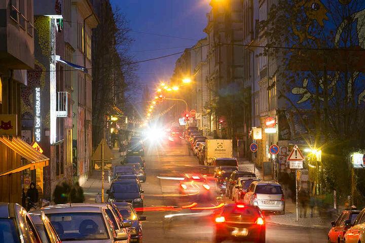In der Dresdner Neustadt kommt es zunehmend zu Gewaltvorfällen.